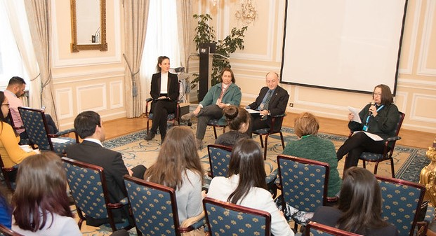 WiN IAEA Chapter president participates in Ambassador for a Day event